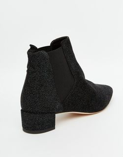 Кожаные Ботинки Челси Beau Miista                                                                                                              чёрный цвет