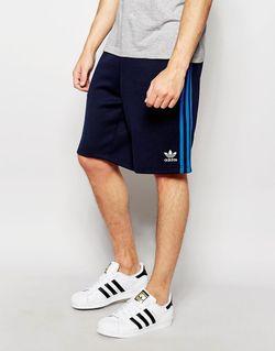 Шорты Superstar Aj6941 Синий adidas Originals                                                                                                              синий цвет