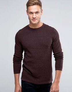 Premium Textured Knit Jack & Jones                                                                                                              красный цвет