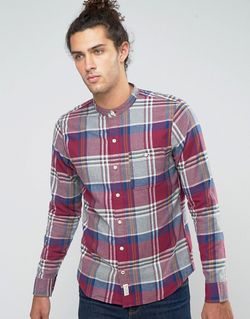 Фланелевая Рубашка На Пуговицах Узкого Кроя В Hollister                                                                                                              None цвет