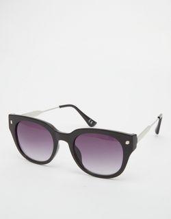Круглые Солнцезащитные Очки Черный Jeepers Peepers                                                                                                              черный цвет