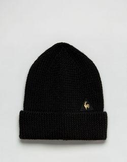 Шапка-Бини С Логотипом Le Coq Sportif                                                                                                              чёрный цвет
