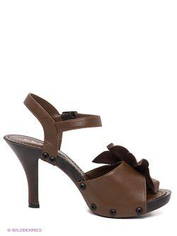 Босоножки Felina shoes                                                                                                              коричневый цвет