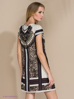 Платья Bovona                                                                                                              бежевый цвет