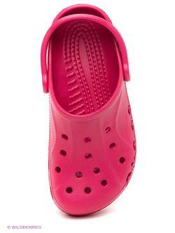 Сабо Crocs                                                                                                              Малиновый цвет