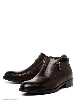 Ботинки iD! Collection                                                                                                              коричневый цвет