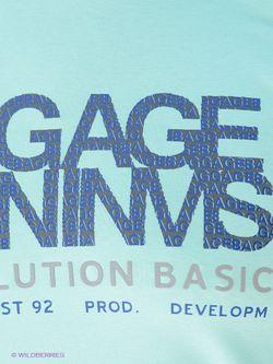Лонгсливы BAGGAGE                                                                                                              голубой цвет