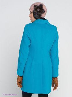 Пальто Klimini                                                                                                              Бирюзовый цвет