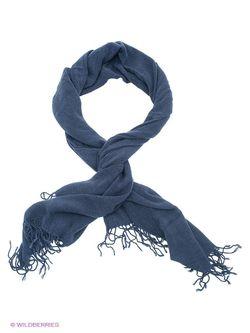 Шарфы Solid                                                                                                              синий цвет