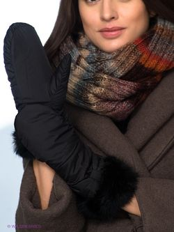 Варежки Fabretti                                                                                                              черный цвет