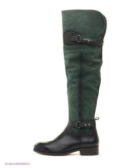 Ботфорты Velvet                                                                                                              зелёный цвет
