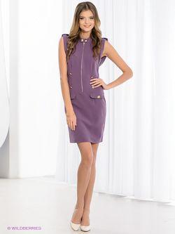 Платья FRENCH HINT                                                                                                              фиолетовый цвет