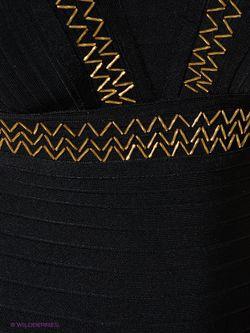 Платья WOW Couture                                                                                                              Антрацитовый, Золотистый цвет
