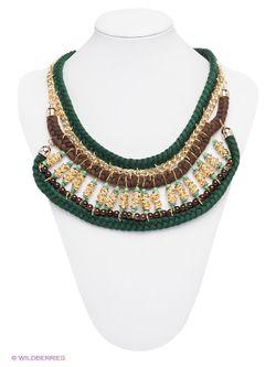 Колье Lovely Jewelry                                                                                                              зелёный цвет
