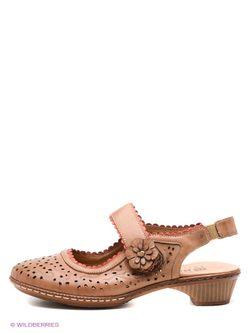 Туфли Baden                                                                                                              коричневый цвет