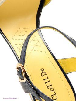 Босоножки Clotilde                                                                                                              желтый цвет