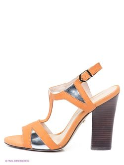 Босоножки Laura Valorosa                                                                                                              оранжевый цвет