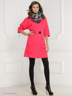 Пальто La Reine Blanche                                                                                                              Фуксия цвет