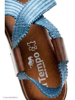 Босоножки El Tempo                                                                                                              синий цвет