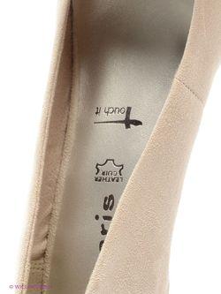 Туфли Tamaris                                                                                                              серый цвет