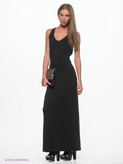 Платье Selected                                                                                                              чёрный цвет