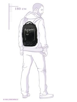 Рюкзаки Grizzly                                                                                                              чёрный цвет