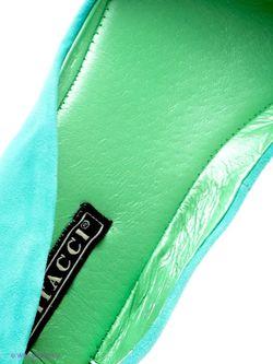 Балетки Vitacci                                                                                                              Бирюзовый цвет