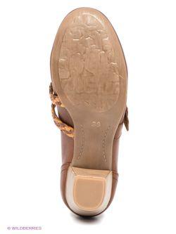 Туфли Marco Tozzi                                                                                                              коричневый цвет