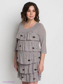 Платья GEMKO                                                                                                              серый цвет