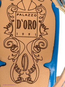 Босоножки Palazzo D'oro                                                                                                              бежевый цвет