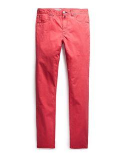 Брюки Mango Man                                                                                                              розовый цвет