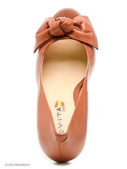 Туфли Evita                                                                                                              коричневый цвет