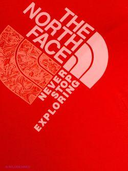Топ The North Face                                                                                                              красный цвет