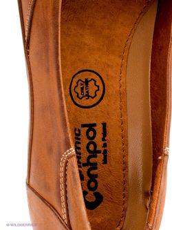 Балетки Conhpol                                                                                                              коричневый цвет