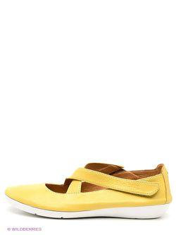 Туфли SHOIBERG                                                                                                              желтый цвет