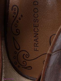 Туфли Francesco Donni                                                                                                              коричневый цвет