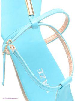 Сандалии Daze                                                                                                              голубой цвет