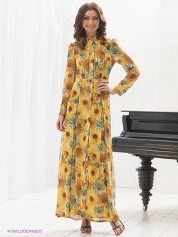 Платья Elena Shipilova                                                                                                              желтый цвет