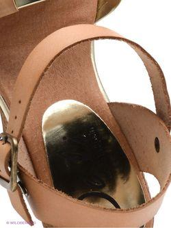Босоножки Dali                                                                                                              коричневый цвет