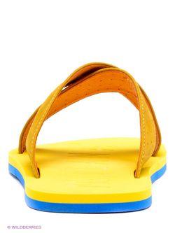 Шлепанцы Milana                                                                                                              желтый цвет