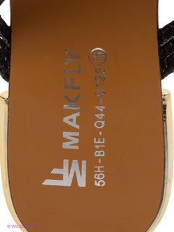Шлепанцы Makfly                                                                                                              чёрный цвет