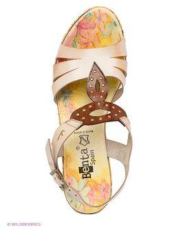 Босоножки Benta                                                                                                              бежевый цвет