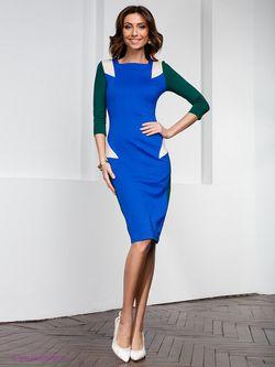 Платья Olga Skazkina                                                                                                              синий цвет