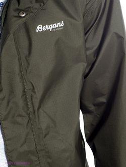 Куртки Bergans                                                                                                              зелёный цвет