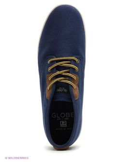 Кеды Globe                                                                                                              синий цвет