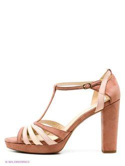 Босоножки Geox                                                                                                              розовый цвет