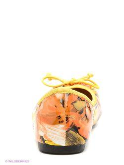 Балетки Inario                                                                                                              желтый цвет