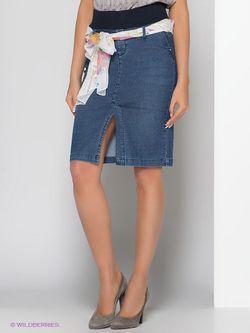 Юбки Palm Beach Jeans                                                                                                              синий цвет