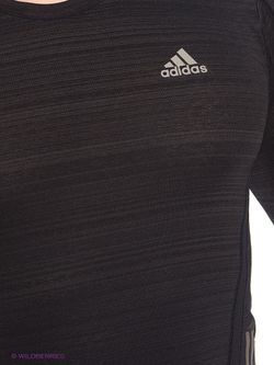 Лонгслив Adidas                                                                                                              чёрный цвет