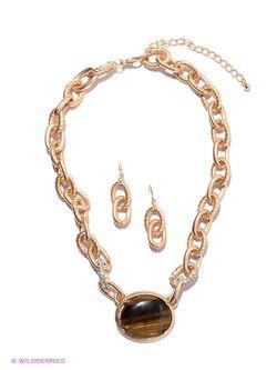Комплекты Бижутерии Atstyle247                                                                                                              коричневый цвет